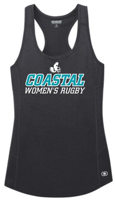 Coastal Carolina WRFC Ladies-Cut Racerback Tank