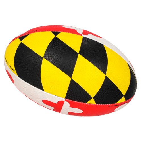 Maryland Flag Size 5 Rugby Ball