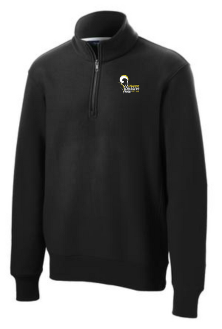 Syracuse Chargers Super Heavyweight 1/4-Zip Fleece