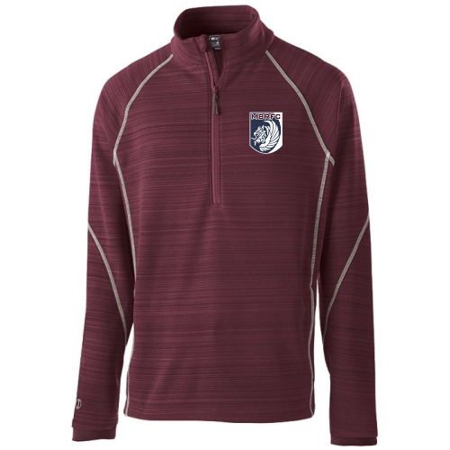 MB Rugby PolyFleece Pullover, Maroon
