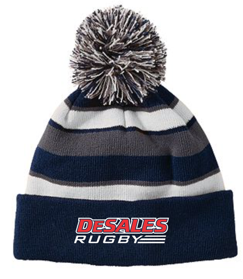 DeSales Rugby Pom Beanie
