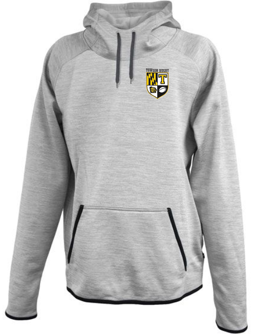 Towson Rugby Ladies-Cut Performance Fleece Scuba Hoodie