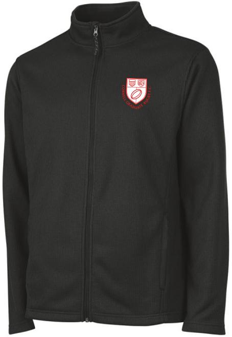 Cornell Graduate Rugby Rib Knit Jacket