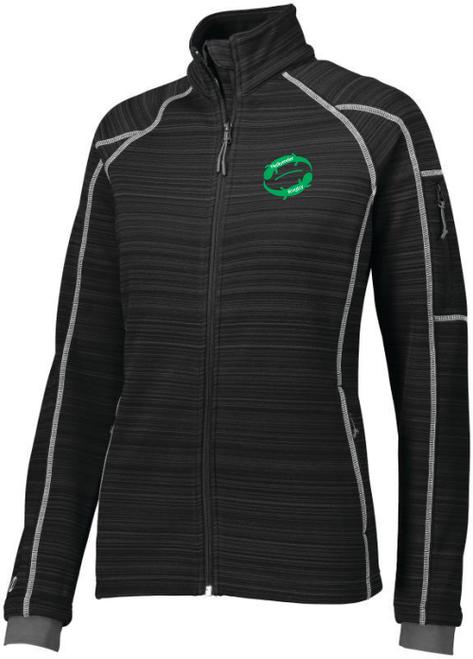Juniata Hellbender Poly Fleece Full-Zip Jacket