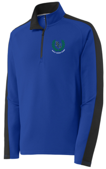 Rocky Gorge Textured Colorblock 1/4-Zip Pullover