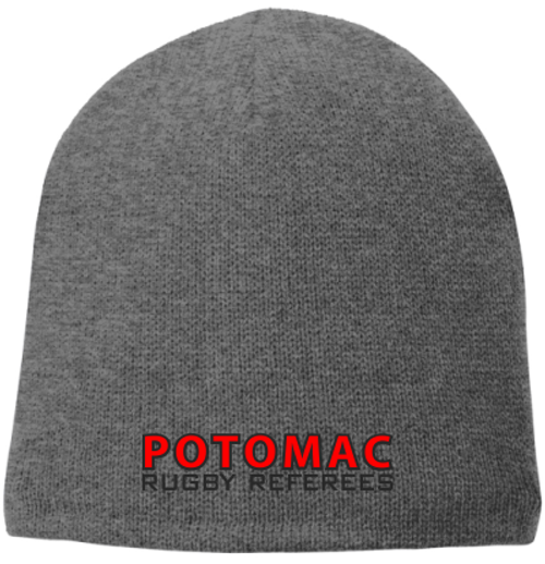 Potomac Referees Fleece-Lined Beanie, Gray