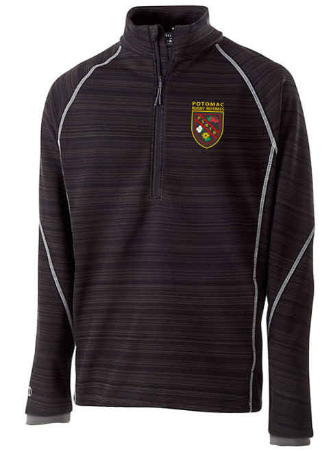 Potomac Referees Poly Fleece Half-Zip Pullover