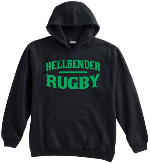 Juniata Hellbender Hoodie, Black