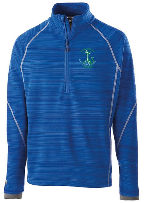 Grunion Rugby 1/2-Zip Poly Fleece Pullover