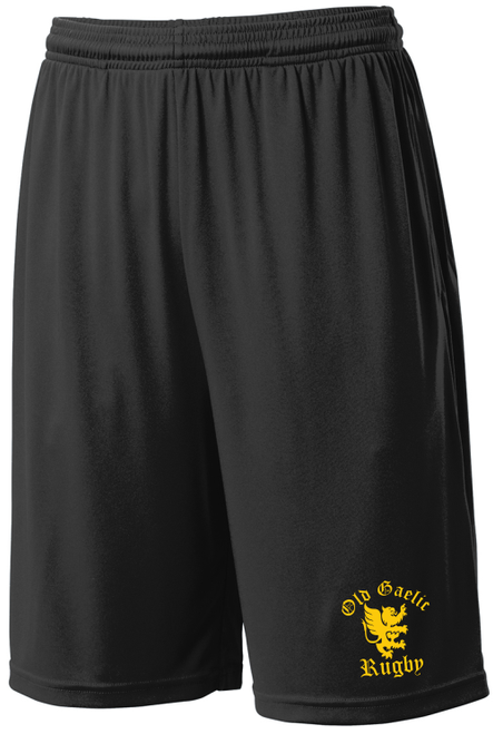 Old Gaelic Gym Shorts, Black