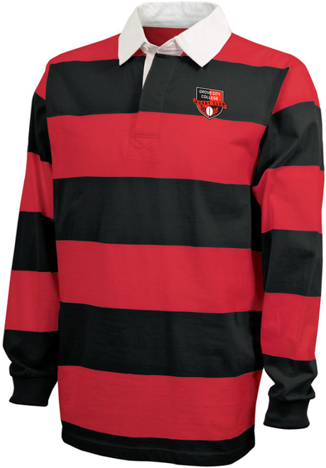 Grove City Men Rugby Stripe Polo