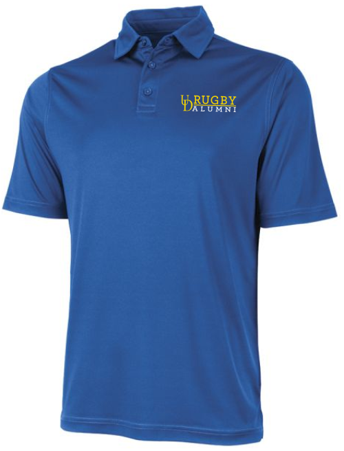 UD Alumni Solid Performance Polo