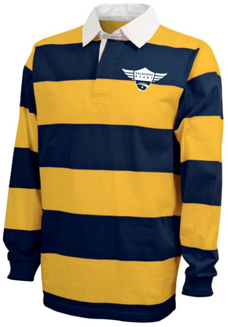 Southern MD Valkyries Rugby Stripe Polo