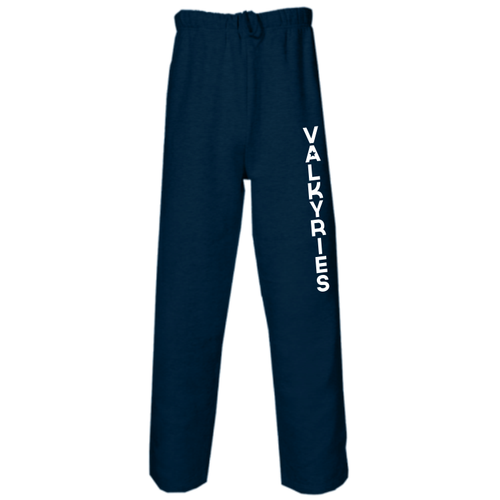 Southern MD Valkyries Open Bottom Fleece Pant