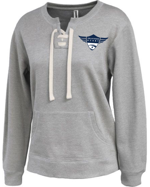 Southern MD Valkyries Laced Fleece Crew