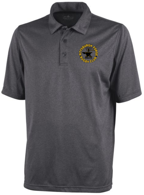 Forge Heathered Performance Polo