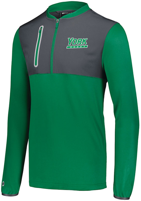 YCP Rugby Training Pullover, Kelly Green