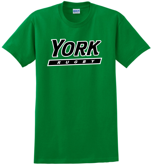 YCP Rugby Cotton Tee, Kelly Green