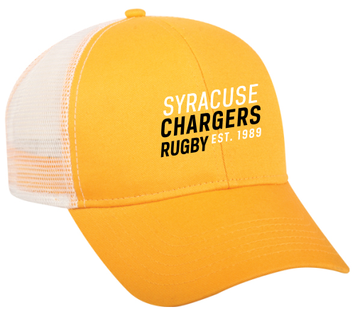 Syracuse Chargers Mesh-Back Hat, Gold