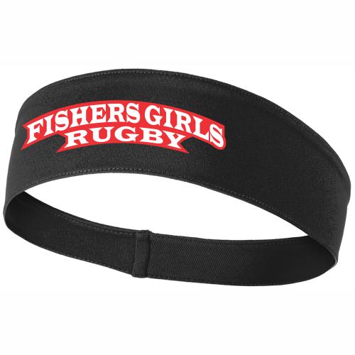 Fishers Girls Performance Headband, Black