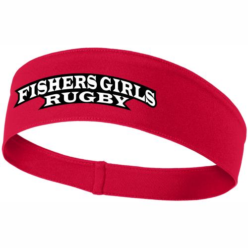 Fishers Girls Performance Headband, Red