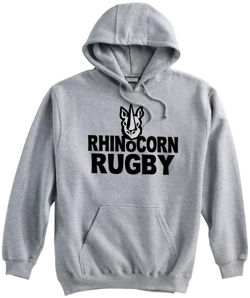 Chicago Rhinocorn Hoodie, Gray