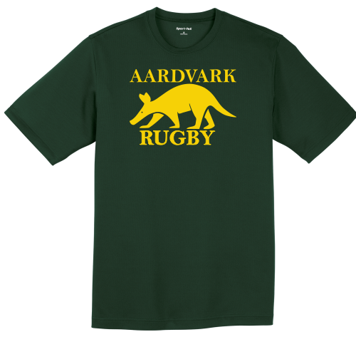 Rochester Aardvarks Performance Tee, Forest
