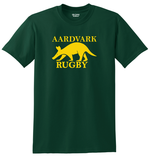 Rochester Aardvarks Rugby Tee, Forest