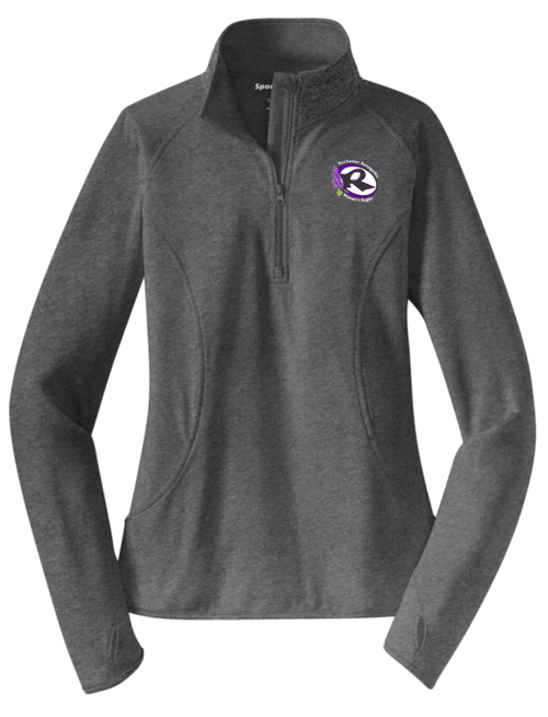 Rochester Renegades 1/2-Zip PolyStretch Pullover