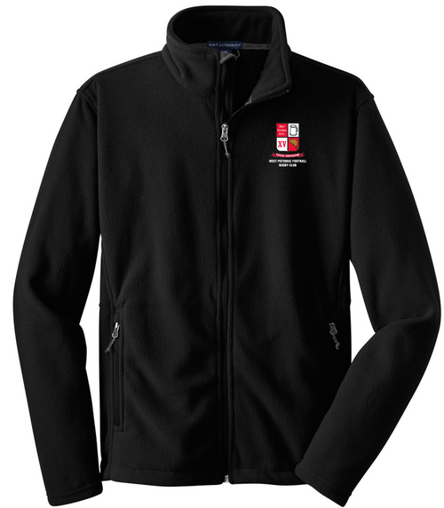 West Potomac Full-Zip Performance Fleece, Black