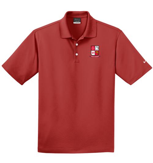 West Potomac Nike Micro-Pique Polo, Red
