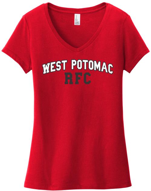 West Potomac Ladies-Cut V-Neck Tee
