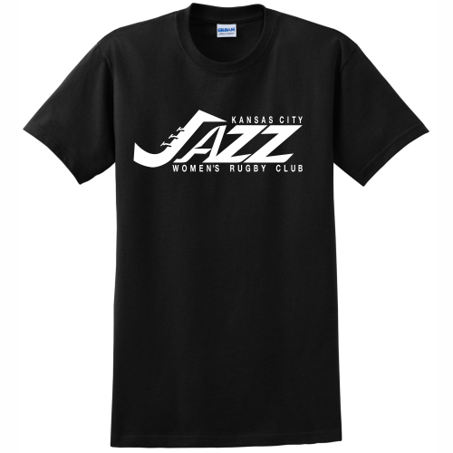 KC Jazz Cotton Tee, Black