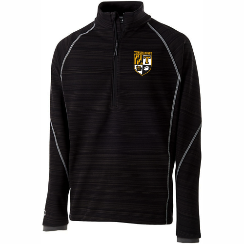 Towson Rugby 1/2-Zip Poly Fleece Pullover