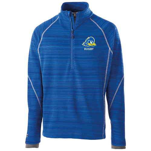 Delware Rugby 1/2-Zip Poly Fleece Pullover