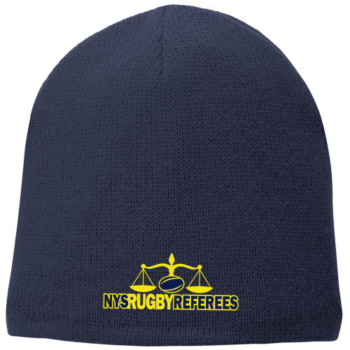 NYSRRS Fleece-Lined Beanie, Navy