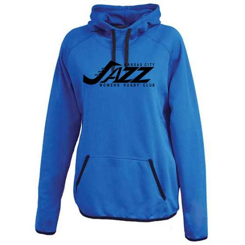 KC Jazz Performance Fleece Hoodie, Royal