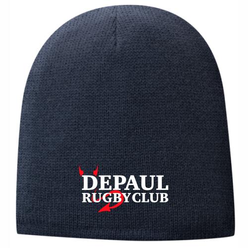 DePaul Rugby Fleece-Lined Beanie