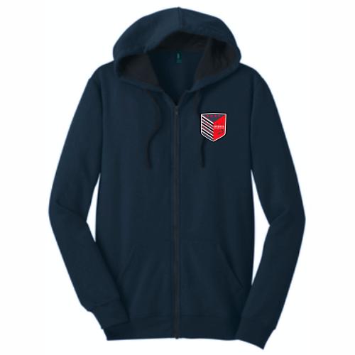 DePaul Rugby Full-Zip Hoodie