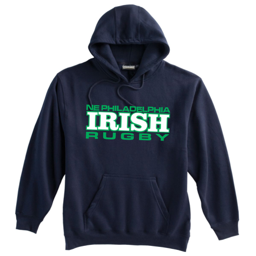 NEP Irish Fleece Hoodie, Navy