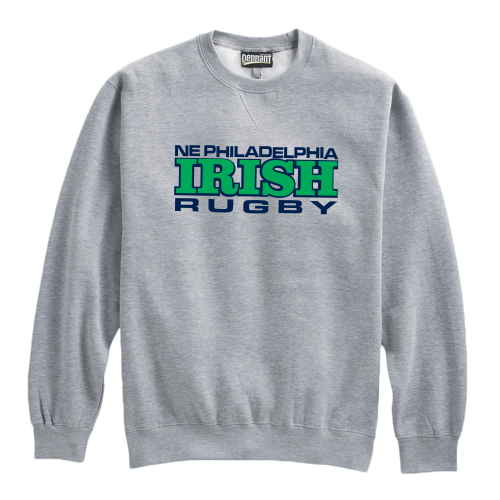 NEP Irish Fleece Crewneck, Gray