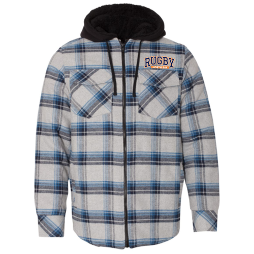 North Bay Quilted Flannel Jacket
