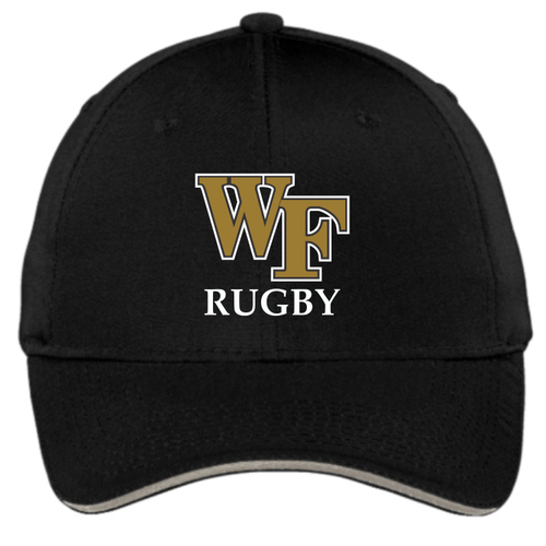 Wake Forest Rugby Adjustable Hat