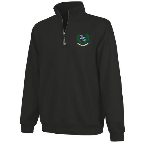 Rocky Gorge 1/4-Zip Sweatshirt, Black