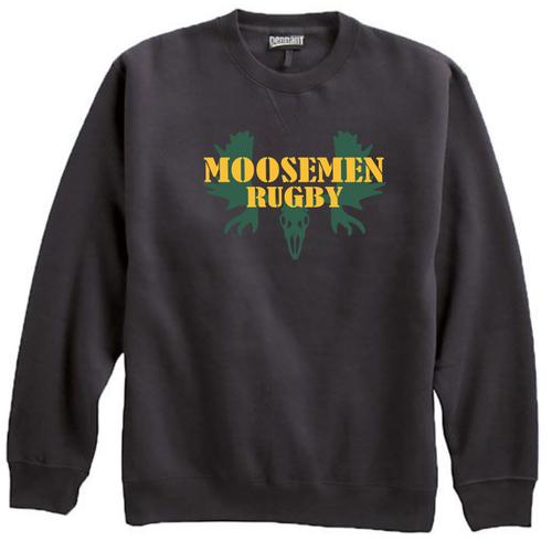 Moosemen Rugby Crewneck Sweatshirt