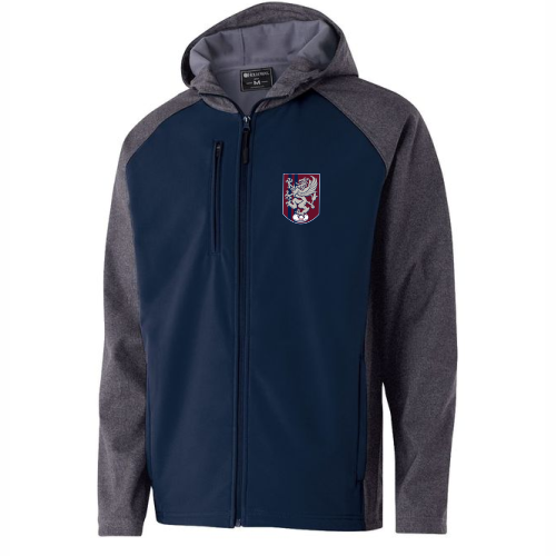 MBRFC 1988 Crest Hooded Soft Shell Jacket