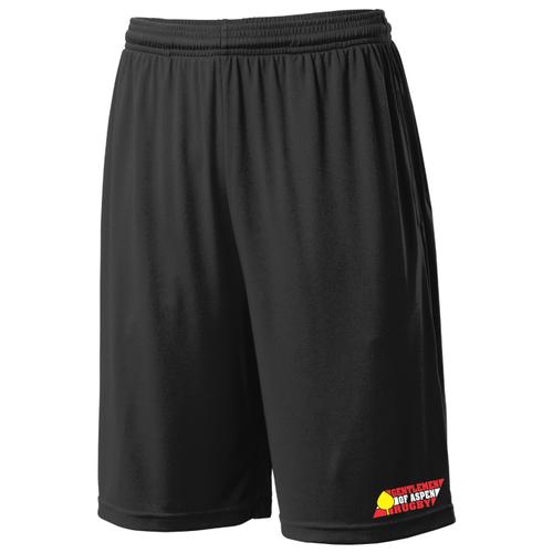 Gentlemen of Aspen Mesh Pocketed Gym Shorts