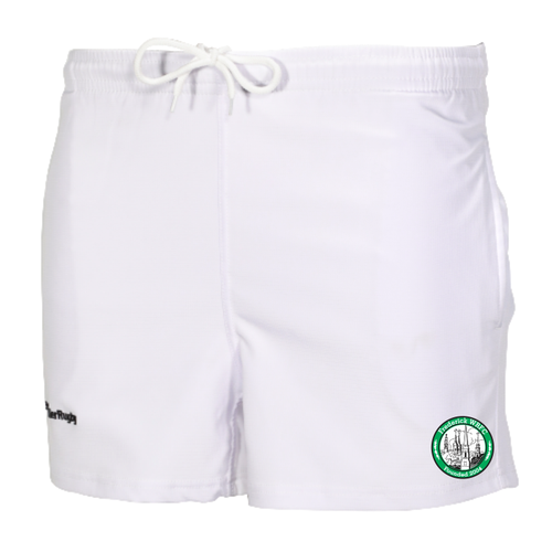 Frederick WRFC Pocketed Performance Rugby Shorts, White