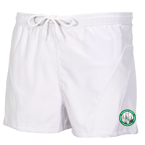 Frederick WRFC Performance Rugby Shorts, White