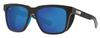 Costa Del Mar Pescador Polarized Sunglasses Net Gray/Blue Mirror 580G Glass 55mm